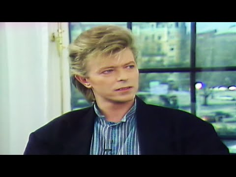 David Bowie interview after secret Stockholm gig 1987
