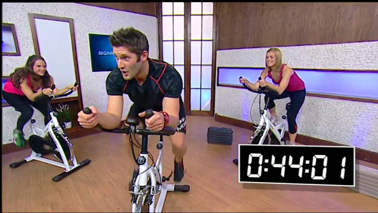 Indoor Cycle Workout Beginner Youtube