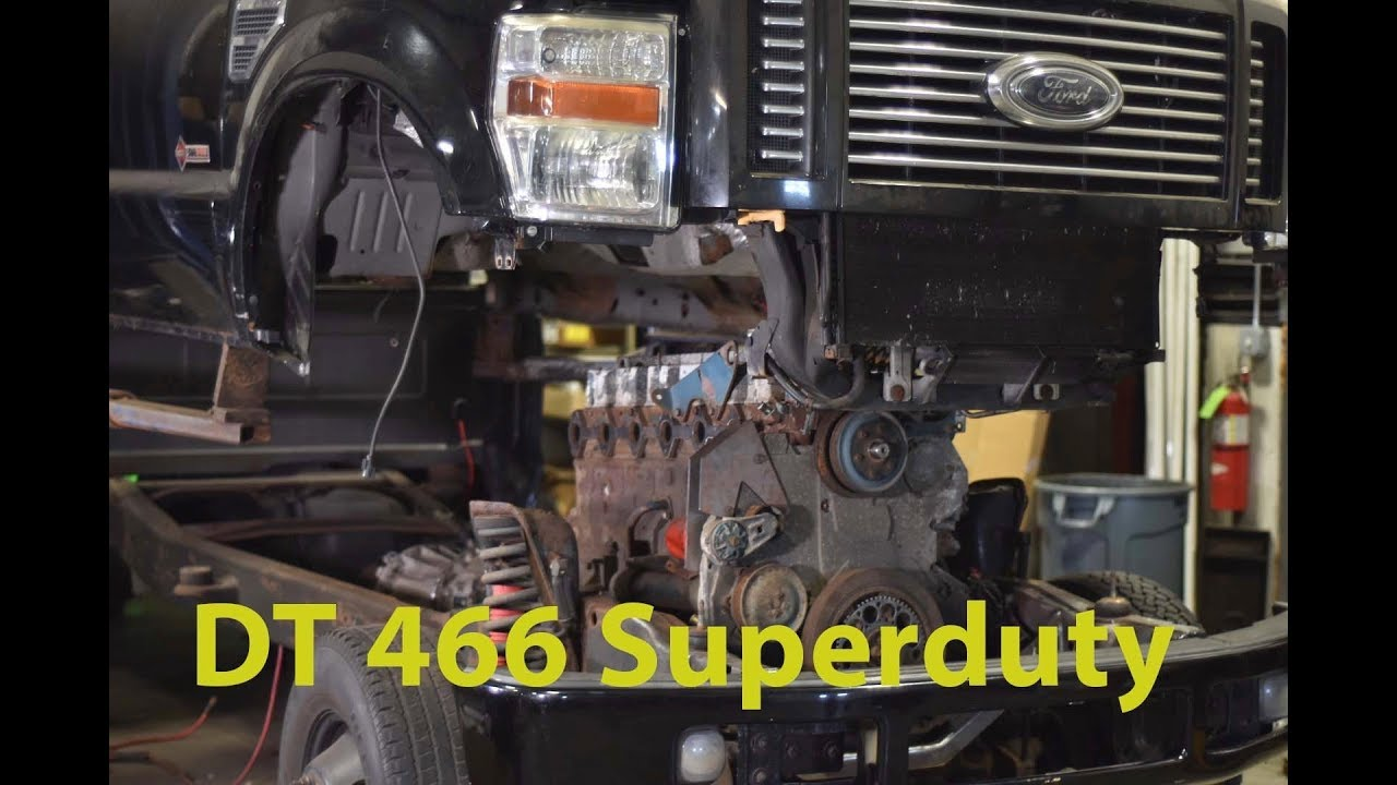 DT466 In a superduty UPDATE