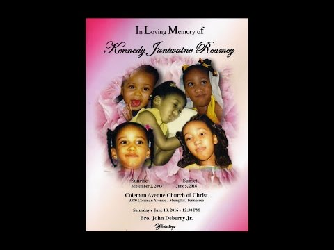 Celebration of Life service for Kennedy Jantwaine Reamey