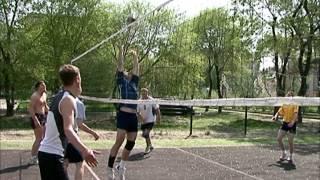 Уличный волейбол
