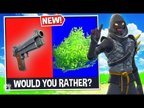 *NEW* WOULD YOU RATHER? Custom Gamemode In Fortnite Battle Royale!