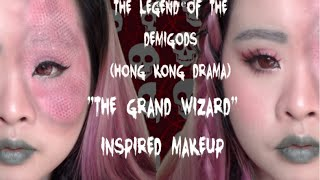 """The Legend of the Demigods (Hong Kong Drama)- """"The Grand Wizard"""" Inspired Makeup 🐍"""