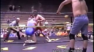 SXW Bullet Bob and Scott Armstrong vs Dangerous Donnie and Fugitive from 3-15-03
