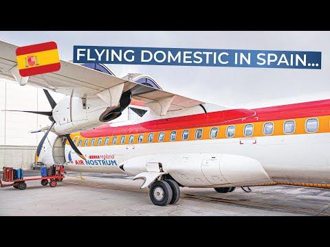 TRIPREPORT | Iberia (opb Air Nostrum) | Madrid - Valencia | ATR 72-600
