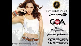 31st December New Year Cruise Party with Bollywood Star in GOA