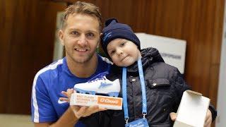 «Я нарисовал мяч с цифрой четыре и вручил награду капитану»: шестилетний Кирилл наградил Кришито