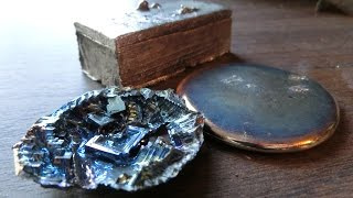 Melting Bismuth, Casting Ingots, and Making Crystals