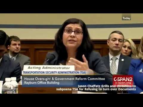 Jason Chaffetz (R-UT) Obliterates Stunned TSA Acting Administrator
