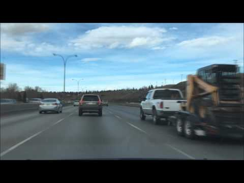 Alberta Highway 2 - Okotoks to Airdrie via Calgary
