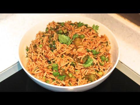 Mumbai Mast Tomato Pulao   Tomato Rice    Bombay Tawa Pulav Recipe   Mumbai Mast Tomato Rice
