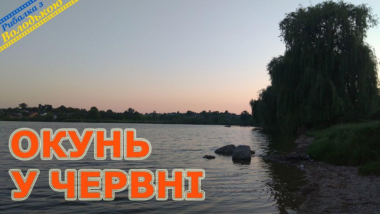 Спінінгова риболовля на ставку в селищі Мар'янівка