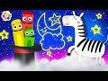 Animals For Kids With Zebra, Magic Hat & Moonshine | Learn Colors With ColorCrew