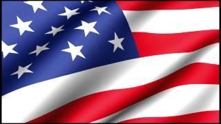 USA American Flag Waving Loop 4K