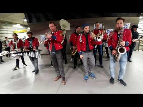#Trans2016 | La fanfare MEUTE dans le métro de Rennes - Full performance