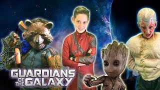 GUARDIANS OF THE GALAXY vs DEADPOOL and The Battle of The Fidget Spinner - Kids Parody!