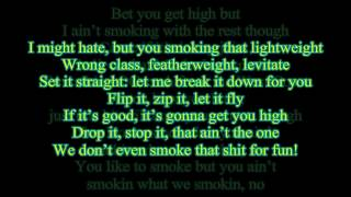 Smokin On - Snoop Dogg & Wiz Khalifa Feat. Jucy-J (Lyrics on Screen) (FULL 1080p HD)