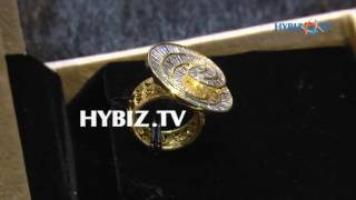 Buggets cut with gold fancy finger rings   Sri Jagadamba Pearls And jewellers   hybiz