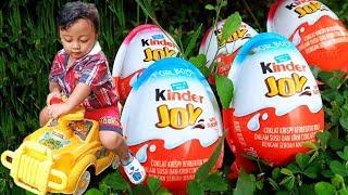 Kinder Eggs Hide and Seek Fun Pretend Play