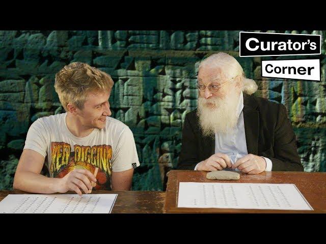 Irving Finkel teaches how to write cuneiform I Curator's Corner Season 4 Episode 8