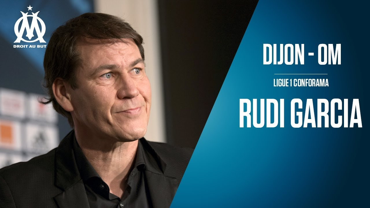 dijon om la conf rence de rudi garcia youtube. Black Bedroom Furniture Sets. Home Design Ideas