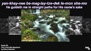 Psalm 23: The Lord is My Shepherd by Shirei Haleviim