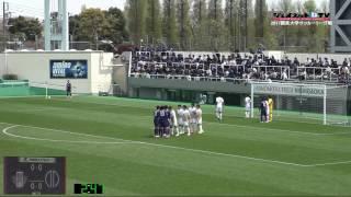 関東大学サッカー2017リーグ戦前期第1節、明治大学vs順天堂大学