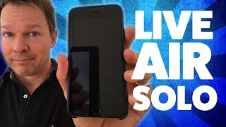Live Air Solo App Review - Mobile Live Streaming Like A PRO!