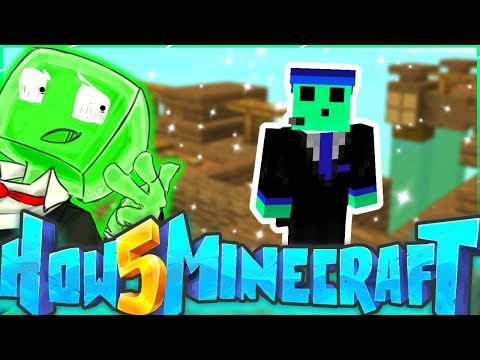 A WHOLE NEW WORLD! - How To Minecraft S5 #1