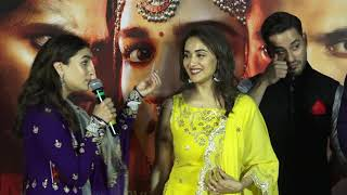 sanjay dutt and madhuri dixit At Trailer Launch Of Film Kalank