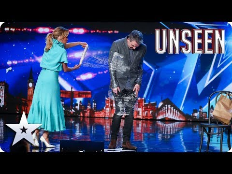SPECTACULAR! Get WRAPPED UP in MAGIC (and CLING FILM) with Alan Hudson!   Auditions   BGT: Unseen