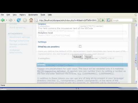 [phpBB] How to add custom BBcodes