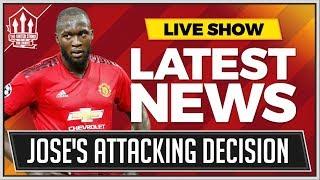 Mourinho Makes Lukaku Manchester United Decision! Man Utd News
