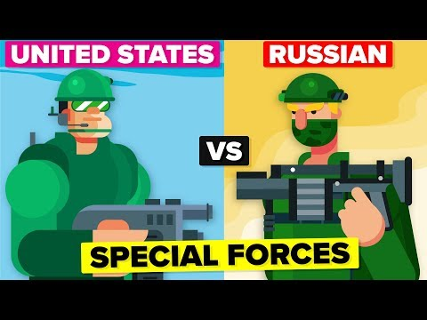 American vs Russian Special Forces - Which Are Better?