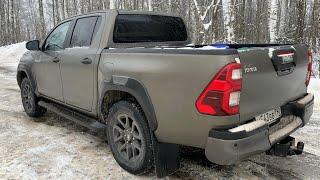 Взял дрифт Hilux от Toyota - зажигай с нагрузкой больше полутонны