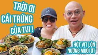Food For Good #453: Hột vịt lộn nướng mắm ớt ai dại dột mới ăn 1 chén !