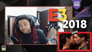 The Last Of Us 2 E3: Ellie's Gameplay LIVE REACTION from Sony Conference!! (KISSSSSS!!)
