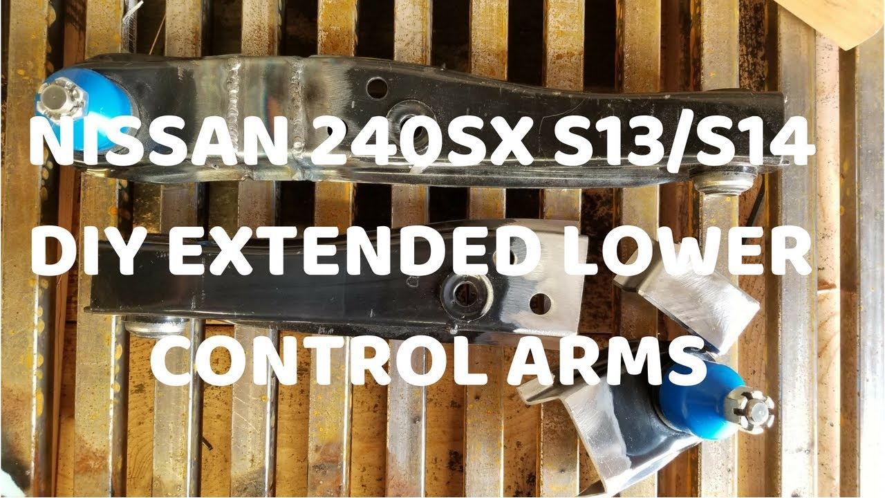 Nissan 240sx s13/ s14 DIY 40mm Extended Lower Control Arms