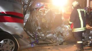 Schwerer Unfall auf der A2 bei Lehnin