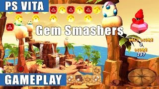 Gem Smashers PS Vita Gameplay  (PS Vita/PS4)