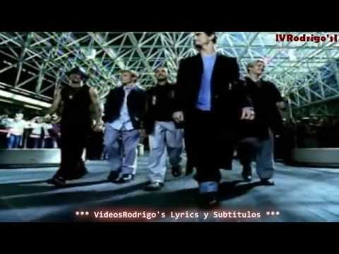Backstreet Boys  I Want It That Way Lyrics y Subtitulos en Español