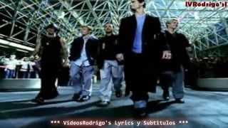 Backstreet Boys - I Want It That Way [Lyrics y Subtitulos en Español]