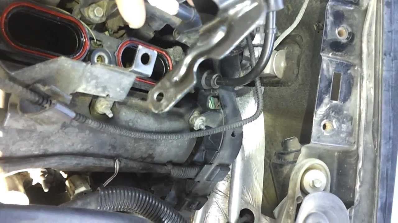 1983 Chevy Starter Wiring Fuel Pressure Sensor On A Lincoln Ls V 6 2001 Youtube