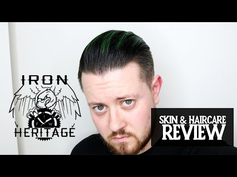 Men's Hair and Skincare I Iron Heritage Brand Review