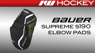 Bauer Supreme S190 Elbow Pad Review
