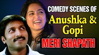Superhit Comedy Scenes of Anushka & Gopichand - Meri Shapath