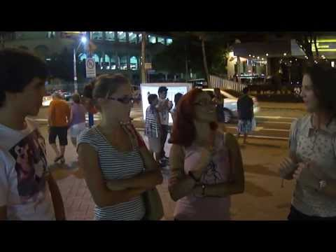 Interview with the tourists in Brazil - English Project - World Cup