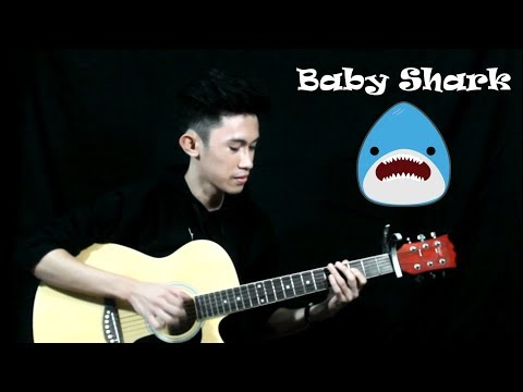 Baby Shark ( Fingerstyle Guitar Cover) Free Tabs