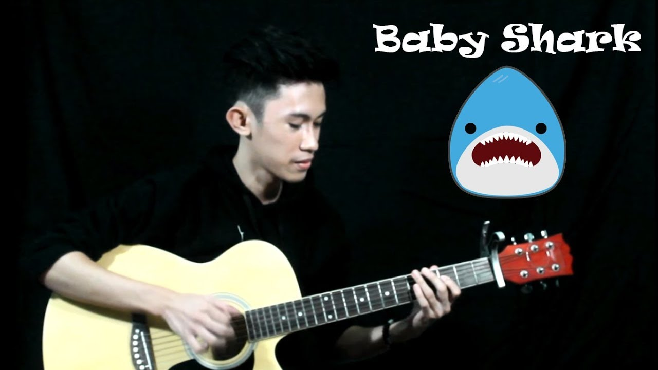 Baby Shark Fingerstyle Guitar Cover Free Tabs Chords Chordify