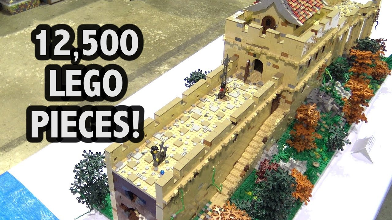 Great Wall Of China Project Made Out Of Bricks
